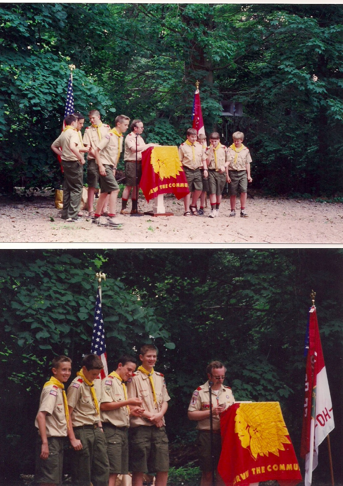 2000 - June - Court of Honor