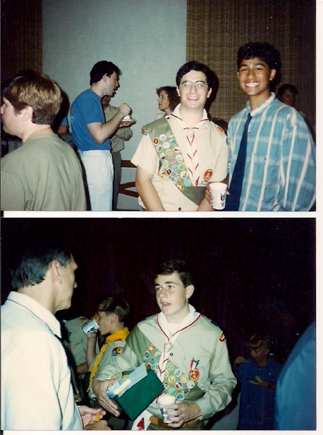 1991 - Eagle Scouts - Andrew Katz and Chris Doland
