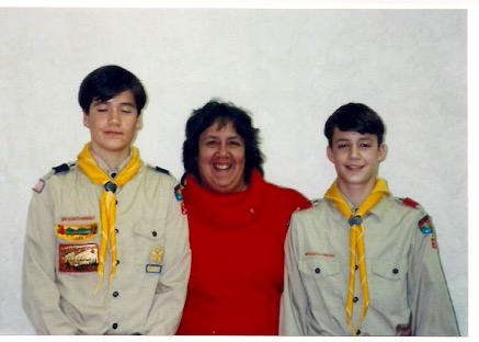Eagle Scouts - 1994 - Chad Moritz and 1997 - Keith Moritz