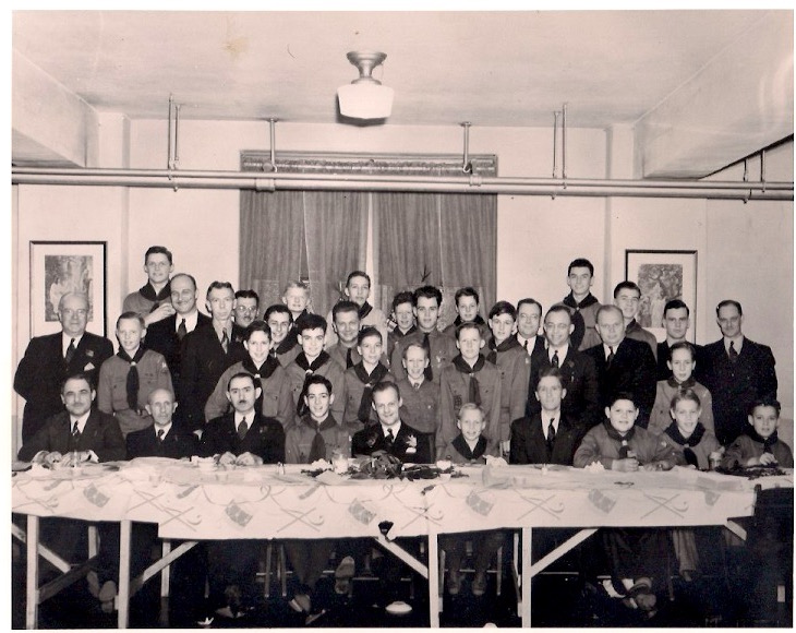 Father and Son Scout Dinner - 1938